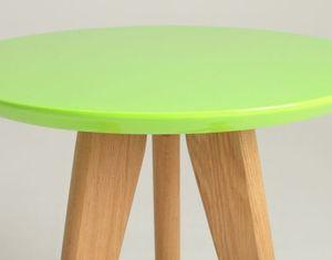 OSLO S stůl - zelený, popel small 2
