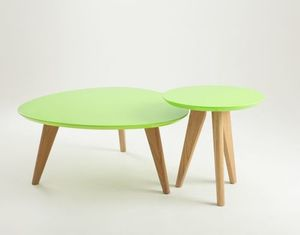 OSLO S stůl - zelený, popel small 4