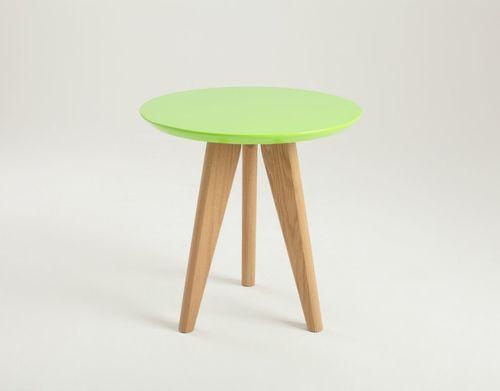 OSLO S stůl - zelený, popel