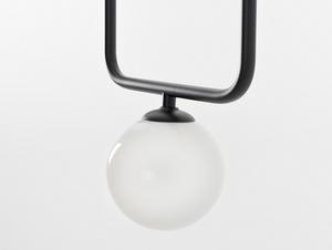 Závěsná lampa CATKIN - černá small 3