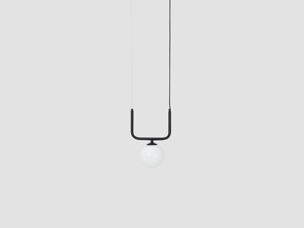 Závěsná lampa CATKIN - černá