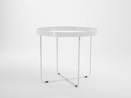 Konferenční stolek DAVID - bílý