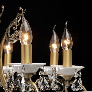 Závěsná lampa Svíčka Classic 8 Mosaz - 683012508 small 3
