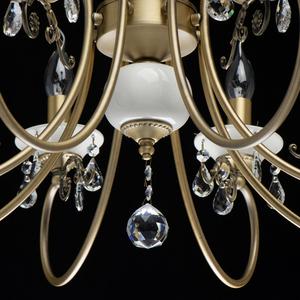 Závěsná lampa Svíčka Classic 8 Mosaz - 683012508 small 9
