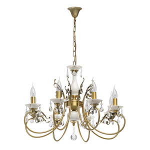 Závěsná lampa Svíčka Classic 8 Mosaz - 683012508 small 0