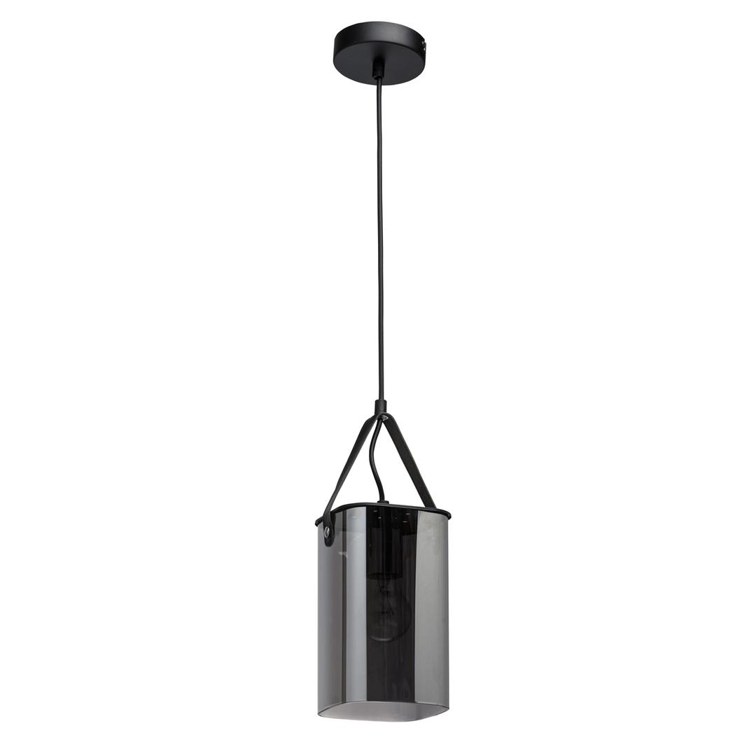Závěsná lampa Alpha Megapolis 1 Černá - 673015701