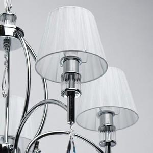 Závěsná lampa Vega Elegance 5 Chrome - 329011705 small 5