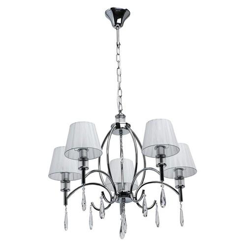 Závěsná lampa Vega Elegance 5 Chrome - 329011705