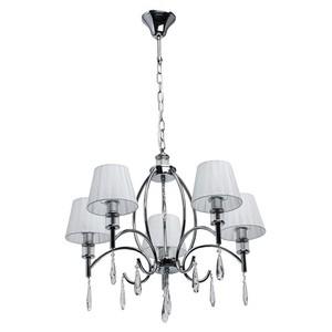 Závěsná lampa Vega Elegance 5 Chrome - 329011705 small 0