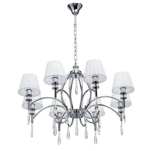 Závěsná lampa Vega Elegance 8 Chrome - 329011808