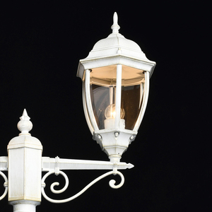 Zahradní lucerna Fabur Street 2 White - 804041102 small 3
