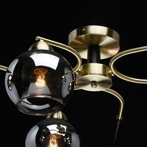 Závěsná lampa Hamburg Megapolis 6 Mosaz - 605014606 small 5