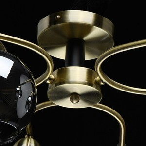 Závěsná lampa Hamburg Megapolis 6 Mosaz - 605014606 small 8