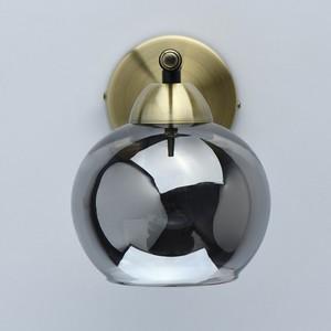 Nástěnná lampa Hamburg Megapolis 1 Mosaz - 605024501 small 2