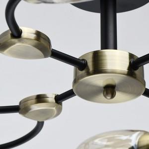 Závěsná lampa Hamburg Megapolis 8 Černá - 605015108 small 9