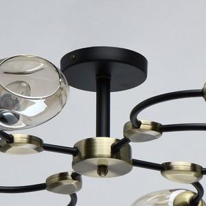 Závěsná lampa Hamburg Megapolis 8 Černá - 605015108 small 10