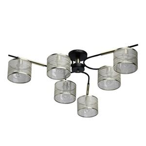 Závěsná lampa Conrad Megapolis 6 Mosaz - 667011506 small 0