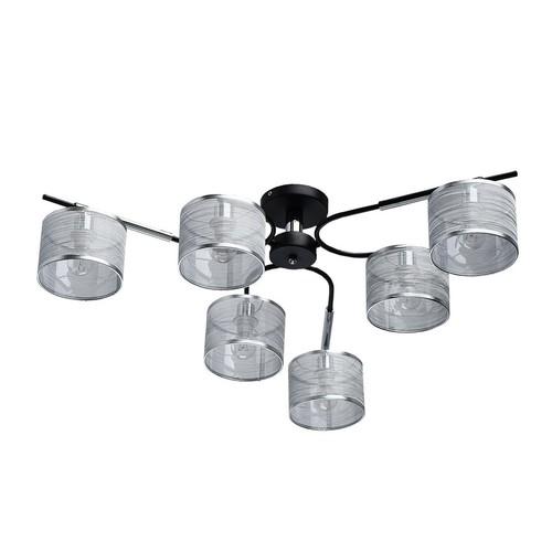 Závěsná lampa Conrad Megapolis 6 Chrome - 667011806