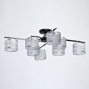 Závěsná lampa Conrad Megapolis 8 Chrome - 667011908 small 2