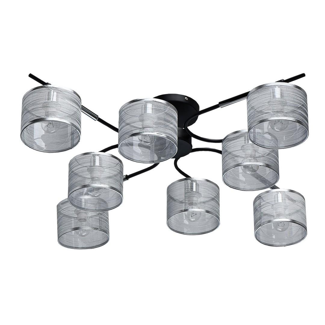 Závěsná lampa Conrad Megapolis 8 Chrome - 667011908