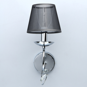Nástěnná lampa Federica Elegance 1 Chrome - 684021901 small 3