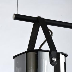 Závěsná lampa Alpha Megapolis 4 Černá - 673015604 small 4