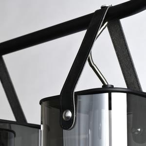 Závěsná lampa Alpha Megapolis 4 Černá - 673015604 small 5