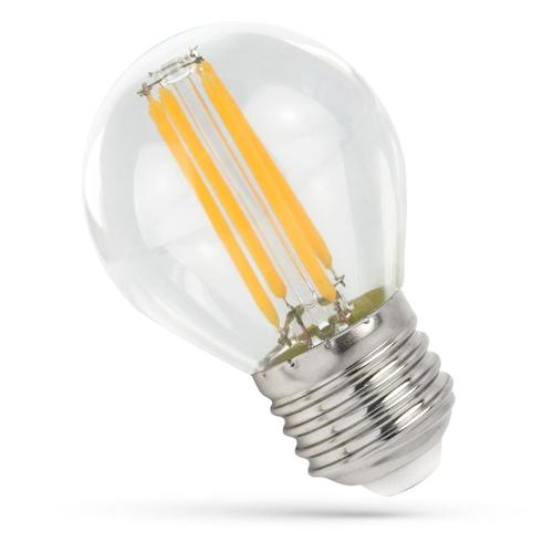 Led Ball E-27 230v 6w Cog Nw Clear Spectrum