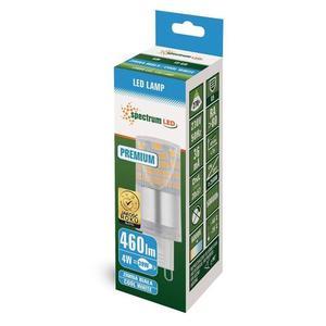 Led G9 230v 4w Cw Smd 5 let Premium Spectrum small 1