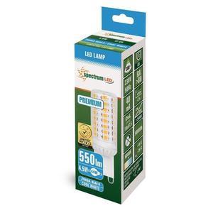 Led G9 230v 4,5w Cw Smd 5 let Premium Spectrum small 1
