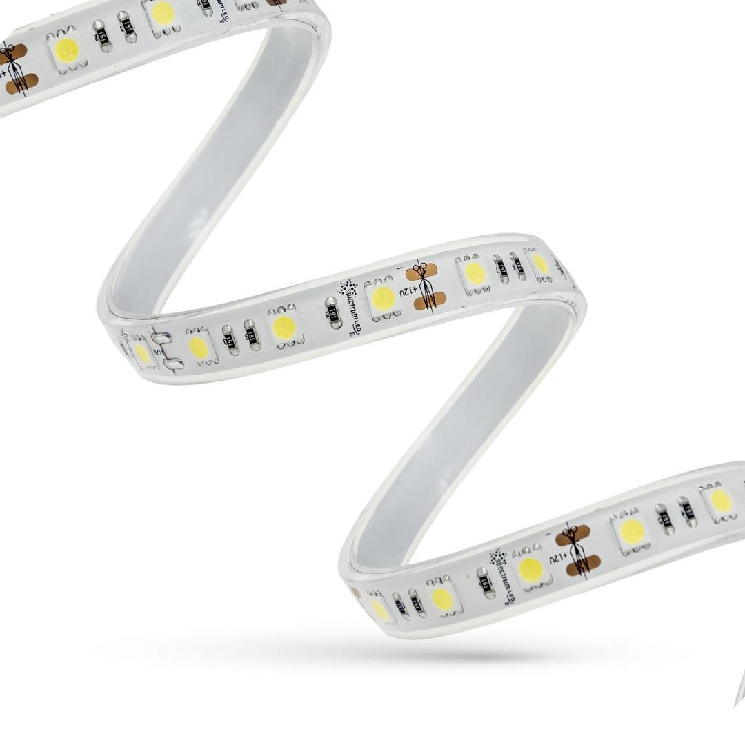 LED pás 44w / 5m 3528 120led / 1m Cw 2 roky Eco 1m (role 5m) bez krytu