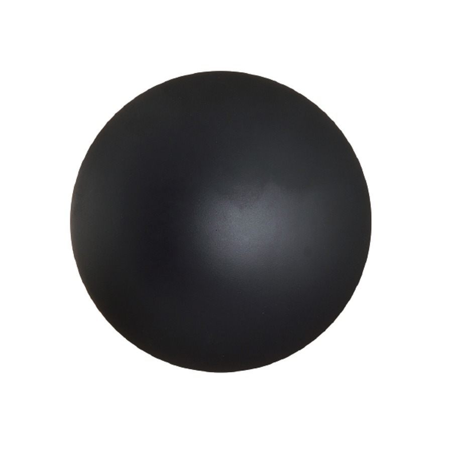 Velká černá stropní lampa Platillo