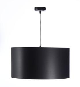 Černá měděná závěsná lampa LEXIE E27 60W latex, satén small 2