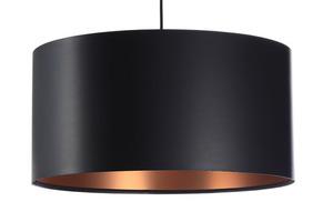 Černá měděná závěsná lampa LEXIE E27 60W latex, satén small 6