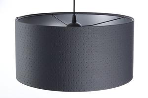 Přívěsek lampa E27 60W válec grafit stříbrný small 3