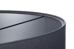 Přívěsek lampa E27 60W válec grafit stříbrný small 4