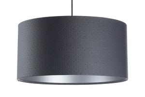 Přívěsek lampa E27 60W válec grafit stříbrný small 6