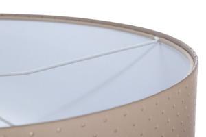 Závěsná lampa nad kůží E27 60W prošívané tečky, béžová, bílá small 4