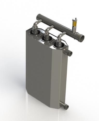 Trojitý indukční kotel 16,5 kw pro vytápění až 330m2