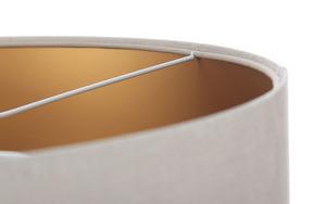 Kožená závěsná lampa, sametová látka, matné zlato E27 60W small 4