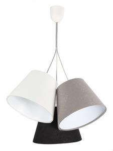 Trojitá stolní lampa BUCKET E27 60W bílá / šedá / černá small 0