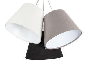 Trojitá stolní lampa BUCKET E27 60W bílá / šedá / černá small 2