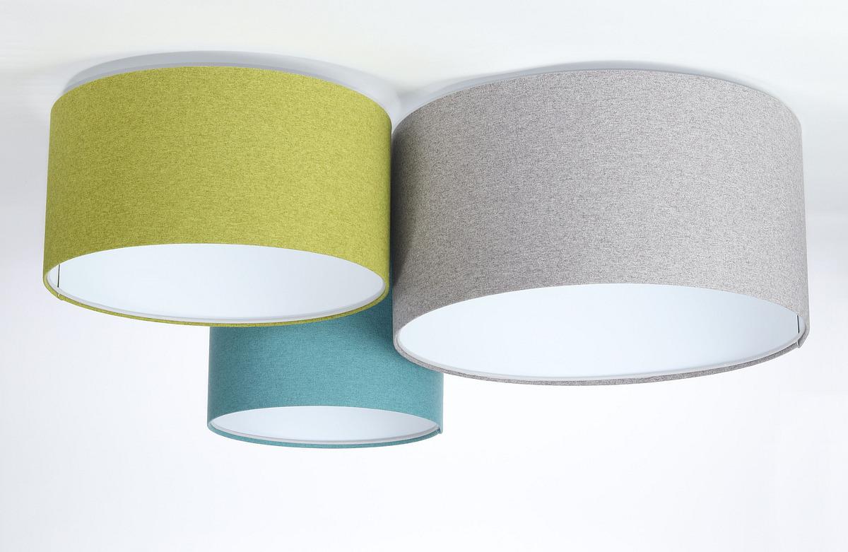 Prvky kuchyňského stropu 60W E27 zelená / modrá / šedá / bílá