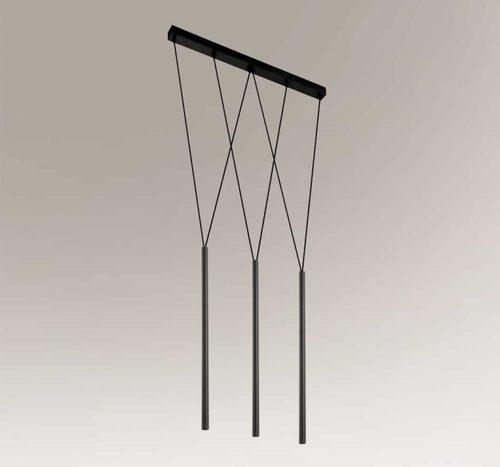 Moderní závěsná lampa Shilo MIAKI 7946