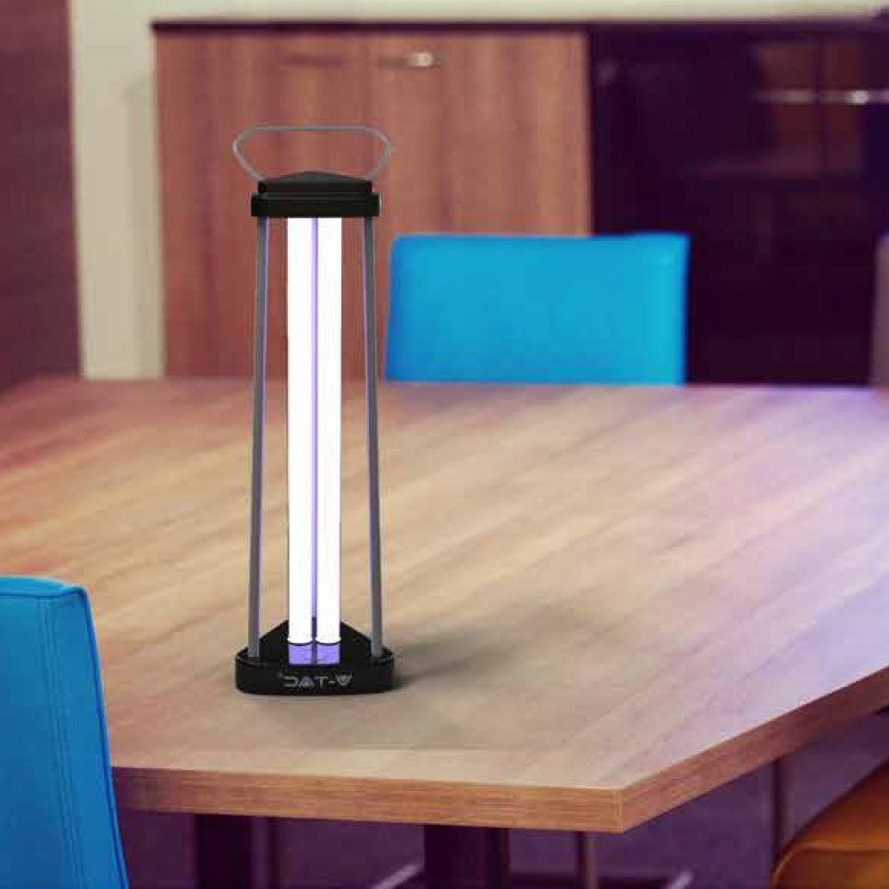 Virtuální germicidní lampa 38W 60m2 UVC OZON V-TAC VT-3238