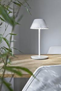 MESH Platek Led - stolní lampa s USB portem - hnědá 3000K small 1