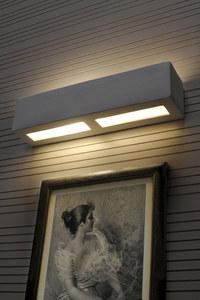 LIBRA SLA.0162 Bílá keramická nástěnná lampa small 3
