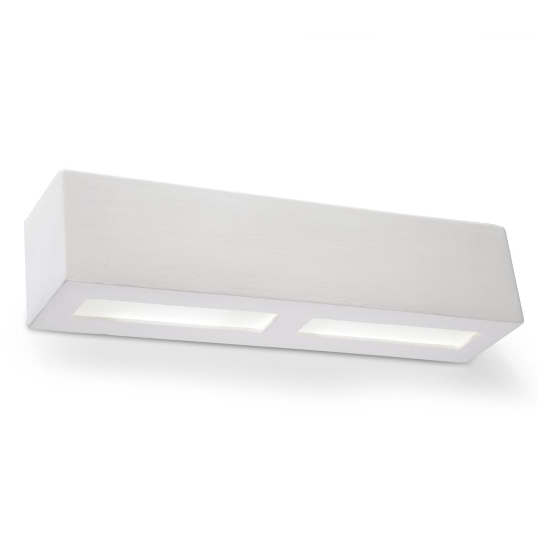 LIBRA SLA.0162 Bílá keramická nástěnná lampa