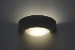 VIRGO SLA.0164 Bílá keramická nástěnná lampa small 2