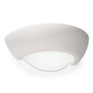 VIRGO SLA.0164 Bílá keramická nástěnná lampa small 0